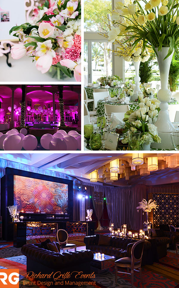 South Florida Event Designer Collage