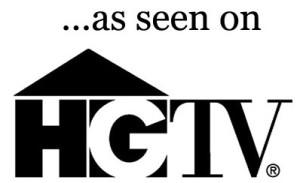 ...as seen on HGTV