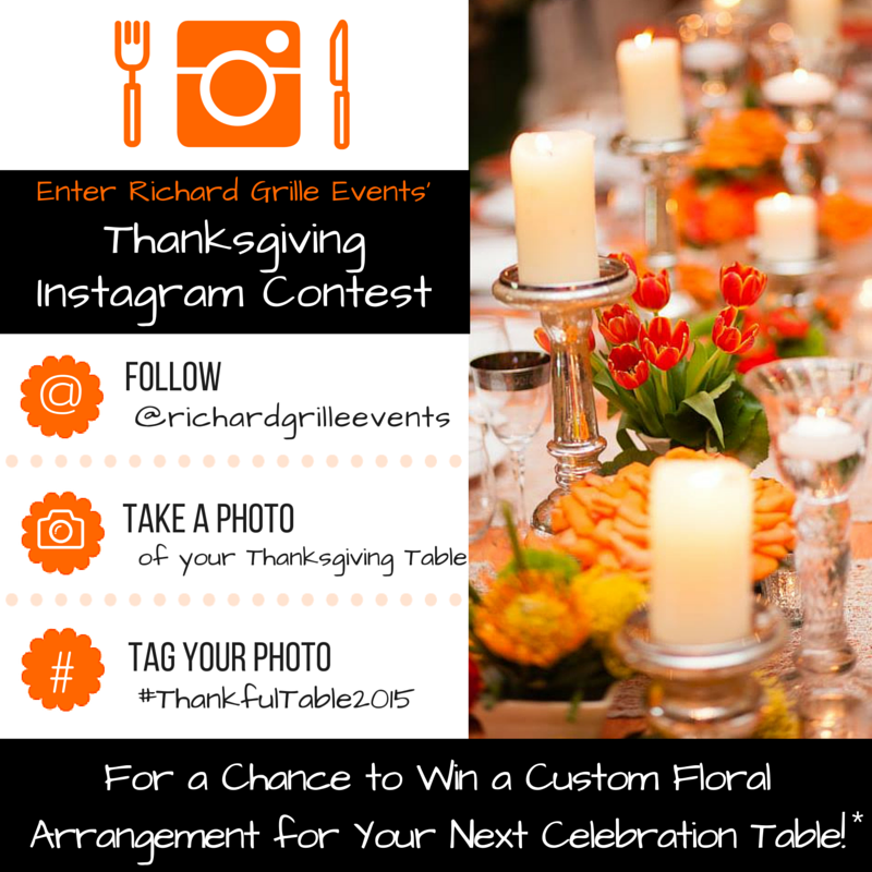 Richard Grille Events Thanksgiving Instagram Contest
